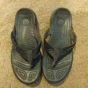 Crocs flip-flops